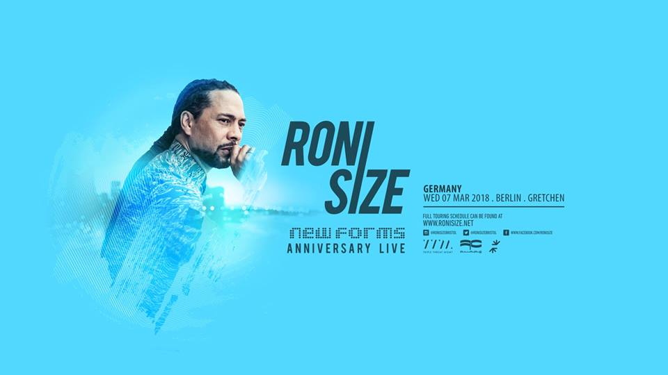 Win tickets to Roni Size @ Gretchen on 7.3