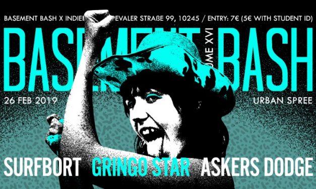 Basement Bash presents NY trend-punkers Surfbort, plus Gringo Star and Askers Dodge